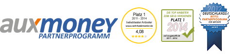 auxmoney-Partnerprogramm Logo